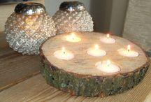 Wat kun je met houtschijven?? / Allerlei ideeen die je kunt maken met grote en kleine boomschijven. Boom schijven of wel houtschijven genaamd verkrijgbaar op webshop www.decoratietakken.nl