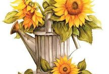 Sunny Flowers / by Coupon Clipping Cook