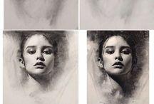 Portrait Drawing - tutorial