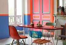 kitchen colourful