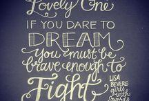 words / by Jenny Manker