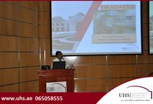 1st monthly CME Program at UHS / University Hospital Sharjah (UHS) organized a CME program with the idea to promote continuous learning among the industry professionals. The CME was accredited by University of Sharjah and one CME Credit Hours were awarded for the program. Many Doctors from outside clinic and medical center attended the program.