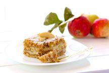 Vrstvený koláč z jablek