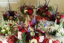 Moss and Mushroom Fresh Flower Weddings