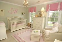 Idea for a Nursery  / Things I seen on Pinterest or online that I like for a Nursery. / by Mary Celie