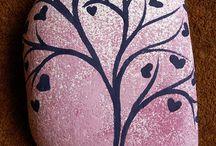maling på vegg
