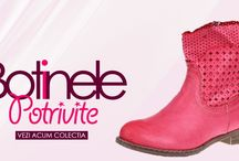 Botine si cizme / Vezi colectia impresionanta de botine si cizme pe site-ul nostru http://botinesicizme.ro unde poti gasi incaltaminte pentru orice picior si buget!