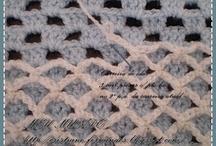 Croshet / knitting stitches