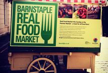 Barnstaple Real Food Market / Barnstaple Real Food Market is a monthly food market, regularly supplying high quality local produce including Breads, Cheeses, Sausages & Meats, Crab & Seafood, Jams, Preserves, Chutneys and More