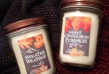Candles / Duftkerzen