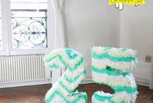 DIY Fiestas y Celebraciones / ¡Porque no hay nada mejor que una mesa dulce y una piñata Handmade!