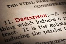 definition, / blog post http://nicolegalpern.net/post/92925357096/definition