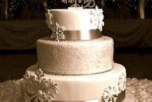 winter weddingcake