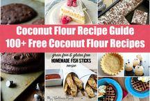 Coconut flour recipies
