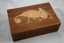 wood marquetry  / my projects