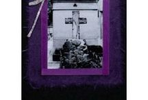 Gothic Greeting Cards / Unique and unusual handmade Gothic greeting cards by Lilactwist Designs. Skulls, bats, crosses and symbols.