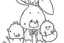 Szinező húsvét