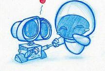 Dibujos de películas
