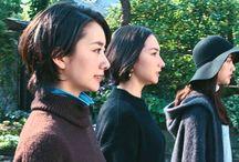 GU CM ゆるニット『三姉妹買い出し』 篇 / Styling:Keiko Hitotsuyama