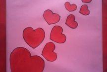 Valentine day Hand MAde Card