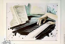 музыкальные