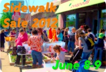 Sidewalk Sale 2012 / by Peapods Natural Toys & Baby Care