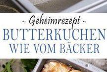 Platenkuchen / Freud- und Leidkuchen, Zuckerkuchen o.ä.