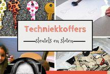 Techniekkoffers kleuters / Ideeën rondom techniek voor kleuters