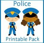 police printable pack