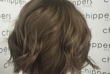 Hair color-brown