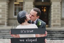 Epic Elopement / A pinspirational board for all Epic Elopements!