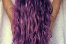Purple hair. Don't care. / by Kayla Bowers