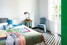Interiors-Bedrooms / by Kyra Williams
