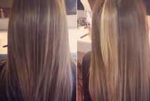 Balayage / Nicky Lazou. My creations All shades of Balayage hair inspiration. ❤️