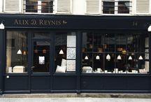 La Boutique Alix D. Reynis / La boutique / atelier au 14 rue Commines! Lieu d'expérimentation déco!