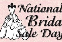Sales Events you cannot miss! / Save on your dream wedding dress and more!