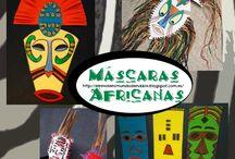 African masks 4°P.E