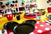 Mickey Mouse themed party ideas / Everything Mickey!
