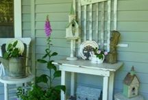 Porch decor / by Debbie Woodward