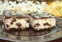 prajitura cu biscuiți si brânză