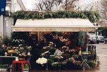 flower shops /stands