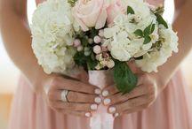 Green, Pink & Champagne / Green, pink & Champagne wedding theme with natural confetti ideas from The confetti cone company www.confetti-cones.co.uk
