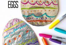 Творчество с использованием яиц и на тему яиц