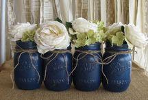Navy-blue wedding / weddings