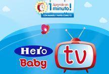 Hero Baby TV / Aprende con vídeos de menos de 1 minuto a preparar la comida para tu bebé