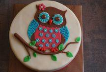 Třetí narozeniny / Owls birthday party