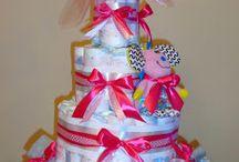 pieluszkowy tort