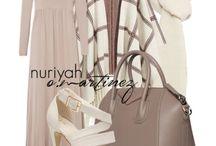 mix and match hijab style