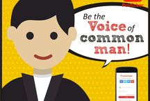 Be the voice of common man! / 0