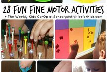 Fine Motor Activities / by Tiffany Thornton